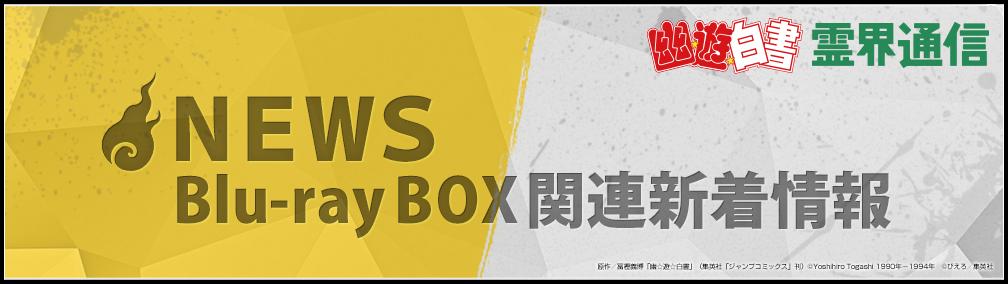 NEWS Blu-ray BOX関連新着情報