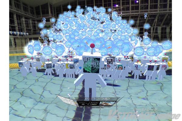 「ゼーガペインADP」VR空間でイベント開催!