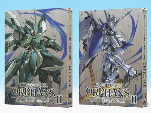 「機動戦士ガンダム 鉄血のオルフェンズ 弐」Blu-ray&DVD第6巻・第7巻好評発売中!