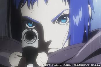 攻殻機動隊ARISE/新劇場版 Blu-ray BOX 発売記念特集〈Chapter2 最強ヒロイン〉