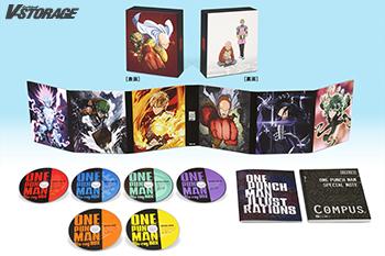 世界的大ヒットTVアニメ「ワンパンマン」Blu-ray BOX&DVD BOX 12月21日発売!