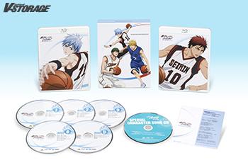 お求めやすい価格で3ヶ月連続リリース!「黒子のバスケ」1st SEASON Blu-ray BOX 1月29日発売!