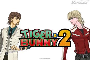 大ヒットアニメ『TIGER & BUNNY』 待望の続編『TIGER & BUNNY 2』2022年 新シリーズスタート!新ビジュアルも公開!