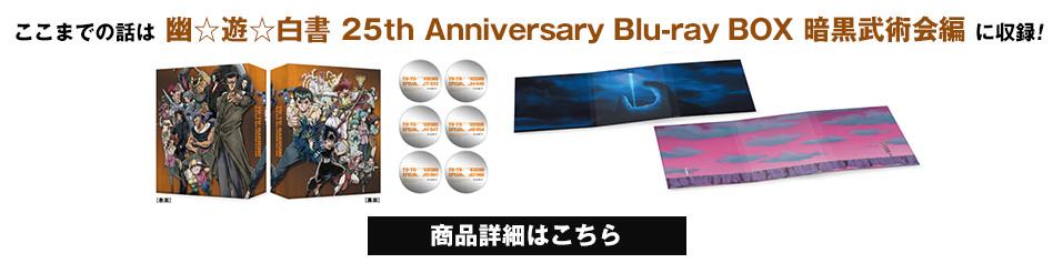 ここまでの話は幽☆遊☆白書 25th Anniversary Blu-ray BOX 暗黒武術会編 に収録